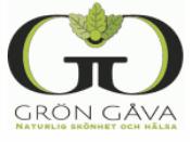 Grön Gåva ekologiska produkter