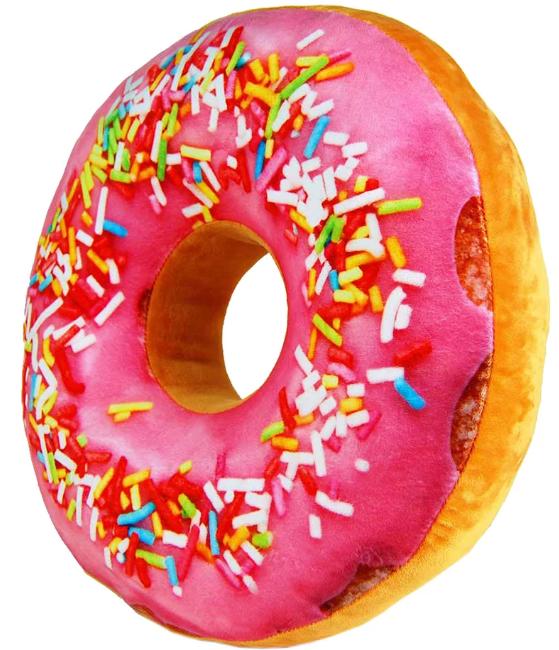 munkkudde - eller donuts kudde